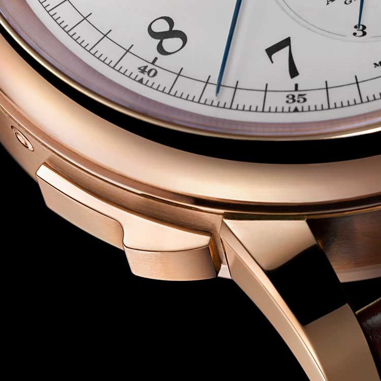 The GRAND COMPLICATION in pink gold has a diameter of 50.0 mm and a height of 20.3 mm.