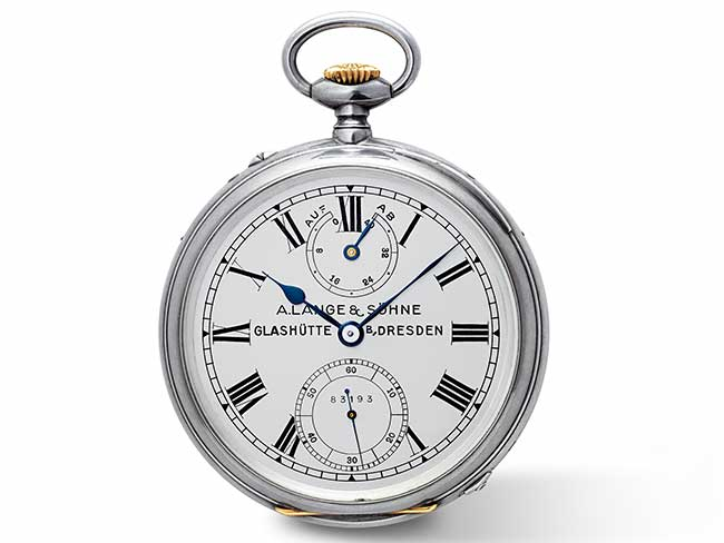 RichARD LANGE pocket watch