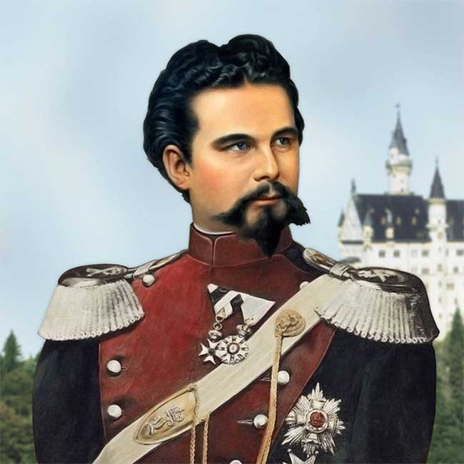 Portrait of Ludwig II of Bavaria