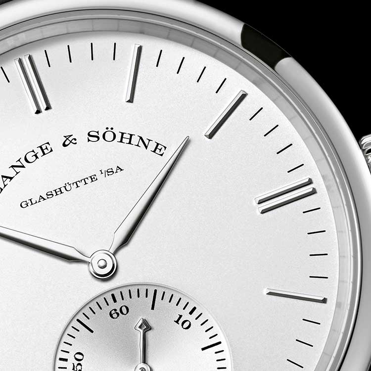 SAXONIA AUTOMATIC 18K白色K金款