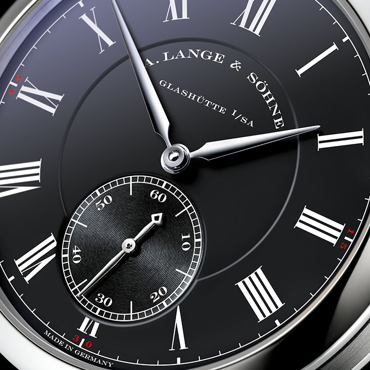 "RICHARD LANGE ""Pour le Mérite"" White Gold"