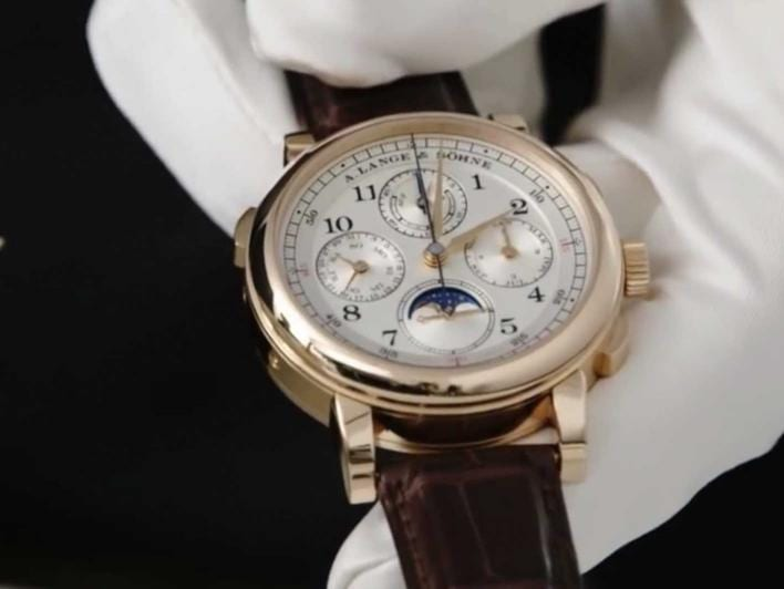 Anthony de Haas on the special features of the 1815 RATTRAPANTE PERPETUAL CALENDAR