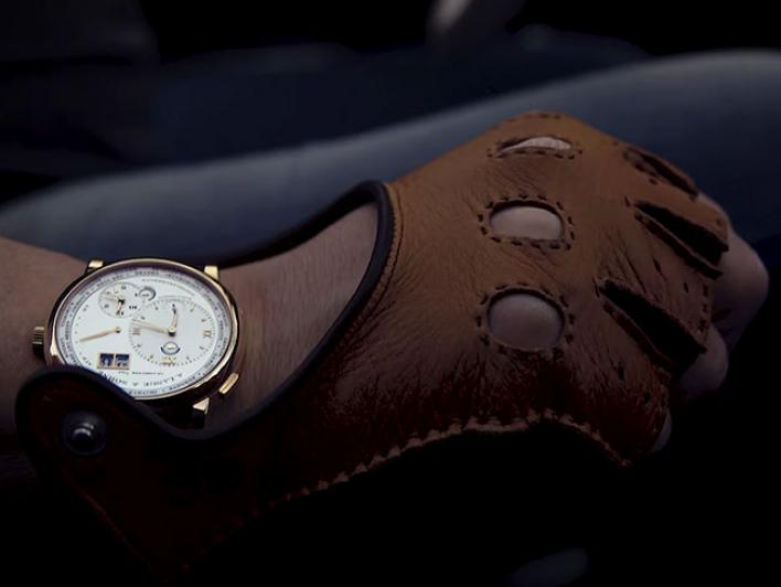 "The video shows scenes of the ""Tour d'Eleganza"" that extends from Munich to Lake Como in Italy. Some drivers of the vintage cars wear A. Lange & Söhne timepieces."