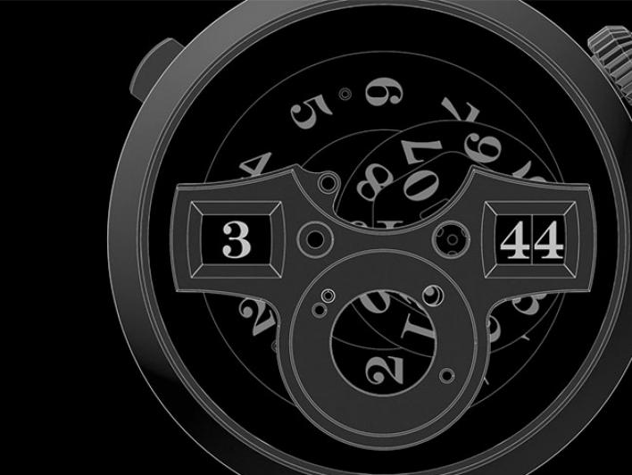 An animation sequence shows the decimal strike mechanism of the ZEITWERK MINUTE REPEATER