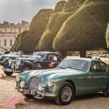 Parking classic cars at the Concorso d'Eleganza Villa d'Este.